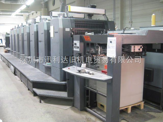 2002年海德堡SM102-8P印刷机